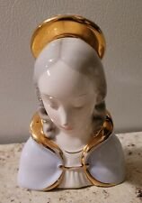 Rare Madonna Statue/Figurine/Bust Porcelain Made in Italy It Numbered 17/700