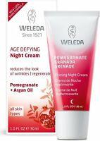 Night Cream by Weleda, 1 oz Firming Pomegranate