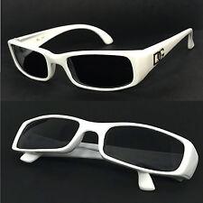 Nouveau Mode Wrap Around femmes lunettes de soleil - Blanc #DG1