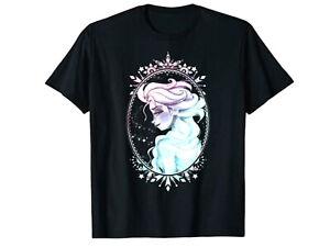 Disney Frozen Elsa graphic juniors T-Shirt Black NWT