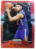 2019-20 Panini Prizm Red Wave Ty Jerome Rookie RC #268, Suns, Refractor