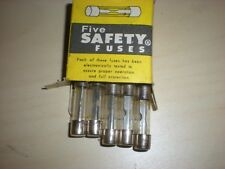 NOS - 30 amp Fuse x 5, 25mm (5 count) box of 5, Honda Yamaha Kawasaki Suzuki BMW