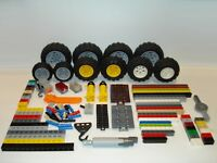 Lego Technic - Mixed Pieces, Pins, Axles, Beams, Wheels - Multiple Variations!
