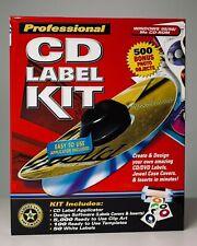 Professional CD Label Kit - unopened
