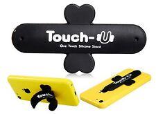 Support téléphone silicone Touch-U pour Iphone, samsung, htc, nokia, wiko, NOIR