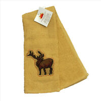 Elk Country Terry Towel with Embroidered Elk 16x28 inches