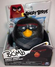 Angry Birds Explosive Action Figure - Talking Bomb. New