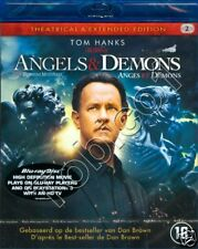ANGELS AND DEMONS - 2 X BLU RAY - TOM HANKS - SEALED