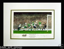 Ireland/Football/Signed Sean St Ledger/Doig/Euro 2012/Ltd Ed Print/New/Irish/RoI