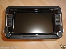 VW RCD 510 MIT RADIOTEXT  5K0035190B NEU 1x BEL. TASTE OHNE FKT. !!!!!!!!!!!!!