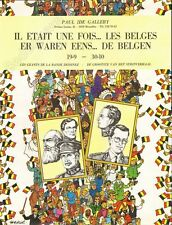 Affiche HERGE Tintin Il était une fois les Belges Les géants de la BD 50x65 cm