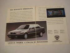 advertising Pubblicità 1989 LANCIA THEMA TURBO 16V