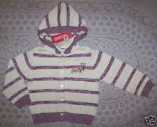 NWT Gymboree LA BELLE EPOQUE Striped Hooded SWEATER 3