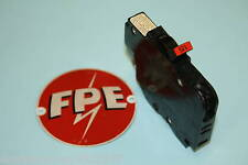 Federal Pacific 15 Amp Breaker Thin 1 Pole Type Nc 120 Volt Single Pole