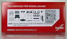 Herpa 083898 Fahrerhaus MAN TGX XXL Euro 6 mit WLB & Dachspoiler Inhalt: 2 Stück