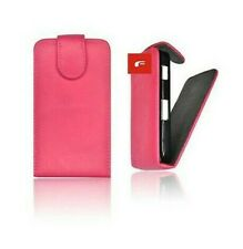 COVER CASE FLIP CASE COVER FLAP LEATHER LOOK PINK HTC SALSA G15 PINK SHELL