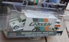 2018 HOT WHEELS CAR CULTURE NISSAN LAUREL 2000 & SAKURA SPRINTER TEAM TRANSPORT