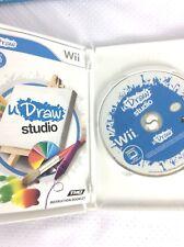 Nintendo Wii uDraw Studio Game Kids Adult  Disc