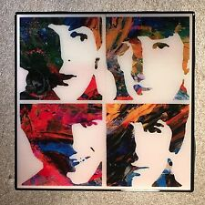 THE BEATLES Coaster Ceramic Tile Artsy
