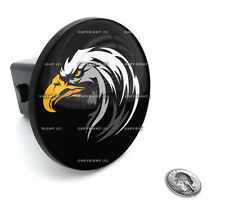 "2"" Tow Hitch Receiver Plug Cover Insert For SUV's & Trucks - ""BALD EAGLE"""