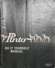 """Vintage Book, Manual, 1970 Ford Pinto Do It Yourself Manual, 8.5 x 11"""" Paperback"""