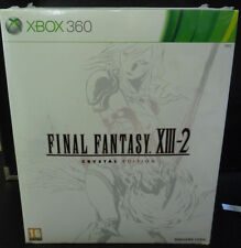 FINAL FANTASY XIII-2 13-2 CRYSTAL EDITION LIMITED COLLECTOR'S   NUOVO XBOX 360