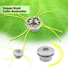 Heavy Duty Aluminum Petrol Brushcutter Strimmer Head Cutter Grass Trimmer Head