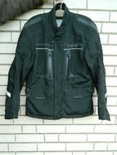 Difi Motorrad Jacke Herren schwarz Membrane AEROTEX  Gr 110  Maße ! Harley XXL ?