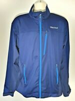 MARMOT Men's ROM Softshell Jacket GORE WindStopper Blue Size XL
