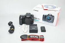 Canon EOS 70D 20.2MP DSLR Camera Body Only, APS-C APSC Frame Digital SLR 70 D