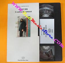 VHS film GHOST DOG IL CODICE DEI SAMURAI EINAUDI Jim Jarmusch (F121) no dvd