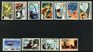 Australian Antarctic Territory L8-18 MNH Aircraft, Dogs, Helicopter, Birds