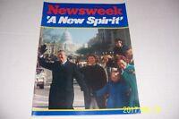 1977 Newsweek JIMMY CARTER Inauguration ROSALYNN AMY No/Label A NEW SPIRIT