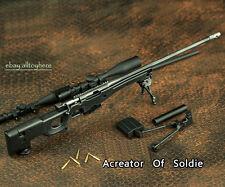 BattleField 1:6 Scale AWP L96A1 AWM Full Metal Sniper Rifle BLACK Modern Warfare