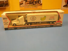 "MODEL POWER  CROWN BANANA  NATURES BEST  TRACTOR AND TRAILER   ""NIP"""