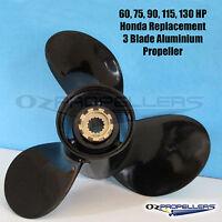 14 x 13 Size Honda 60-130hp Propeller 3 Blade Aluminum Prop High Quality