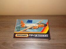 F3D-2 Skyknight 1/72 scale Matchbox