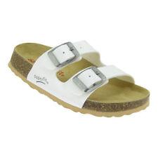 Chaussures blanches en cuir pour fille de 2 à 16 ans pointure 33