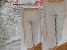 aem`kei Hose Sommerhose Girls ¾ Bein Streetwear sportlich mintgrün Gr 26 1A