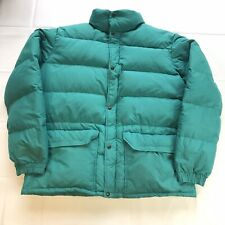 North Face Puffer Jacket 700 Goose Down Coat VTG Mens XL Aqua