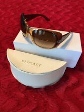 Versace Sunglasses Women's Authentic Brown - All Packaging, Paperwork And Box.