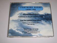 LIGHTNING SEEDS - Lucky You US 1994 Trauma promo CD