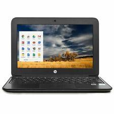 "HP 11.6"" Chromebook G4 EE Intel Celeron 2.16GHz 4GB 16GB SSD in Black (V2W30UT)"