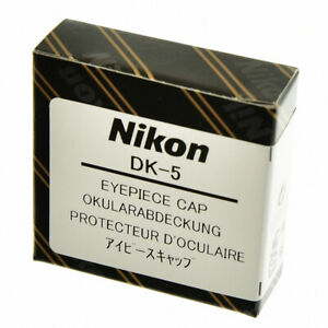 GENUINE NIKON DK-5 EYEPIECE COVER CAP FOR RECTANGULAR EYEPIECE NEW IN ORIG BOX