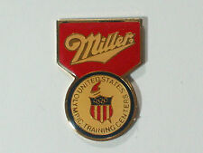 Miller Olympic Training Centers Emblem Beer Pin **