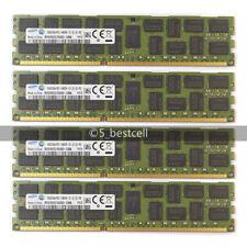 New Samsung 64GB 4X16GB PC3-14900R 2RX4 DDR3-1866MHZ REGISTERED ECC MEMORY Ram