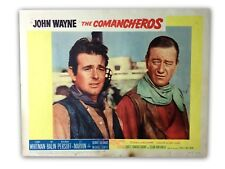 """THE COMANCHEROS"" ORIGINAL 11X14 AUTHENTIC LOBBY CARD POSTER PHOTO 1961 WAYNE"