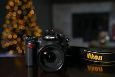 Nikon D7000 16.2MP DSLR Camera with NIKKOR 18-200mm Lens & 2 Batteries/Charger
