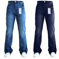 Mens Designer Flared Wide Leg Bootcut Pant Denim Waist And Sizes SnS Jeans
