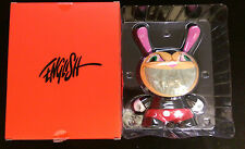 "Apocalyse Grin 8"" Dunny DESIGNER Vinyl Figure Kidrobot X Ron English"